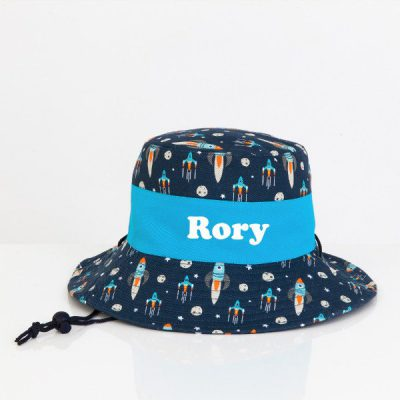 Sun Hat Personalised Rocket - Jasabyn c046c27cf85