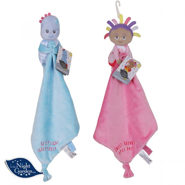 Itng Baby Igglepiggle Upsy Daisy Blankies 2 Asst In The Night Garden