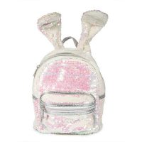 Sequin Bunny Rabbit Ears Backpack Bag 2