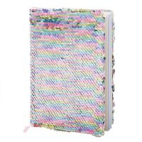Sequin Reversible A5 Notebook Asst. 8