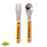The Wiggles 2pc Cutlery Set