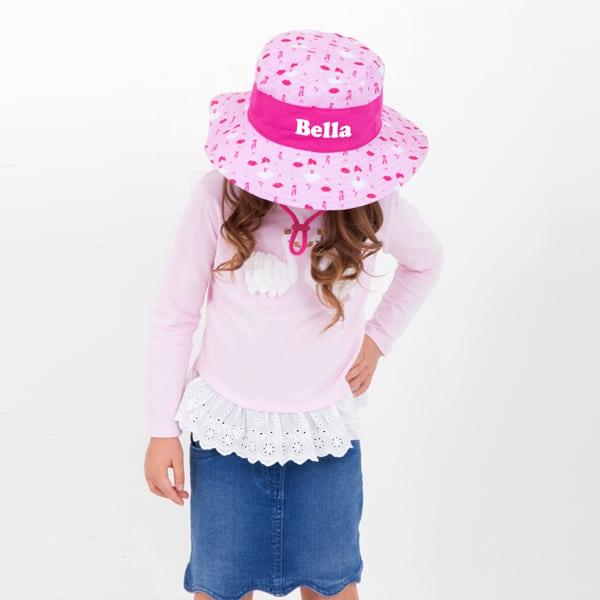 49c85785d Pre School Little Me Personalised Sun Hat Ballerina
