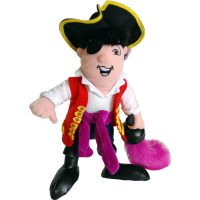 The Wiggles 25cm Captain Feathersword Plush Toy
