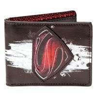 Man Of Steel Emblem Logo Wallet