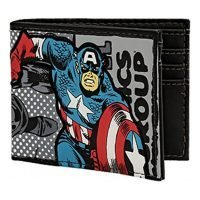 Marvel Captain America Bi-Fold Wallet