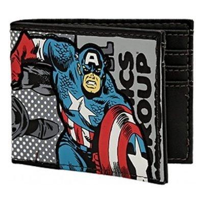 Marvel Captain America Bi-Fold Wallet
