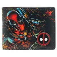 Marvel Deadpool with Metal Logo Bi-Fold Wallet