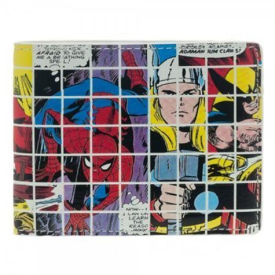 Marvel Grid Collage Wallet