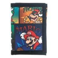 Super Mario Classic Velcro Tri-Fold Wallet