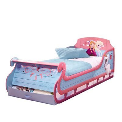 disney-frozen-sleigh-bed