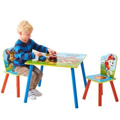 Paw Patrol Table Chairs