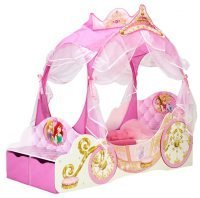 Princess Carriage Toddler Bed