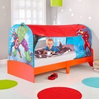 Marvel Avengers Kids Single Over Bed Tent Den