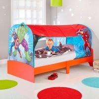 Marvel Avengers Kids Single Over Bed Tent Den