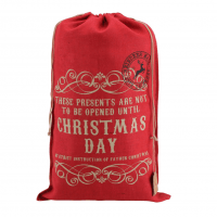 Santa Sack Hessian Christmas